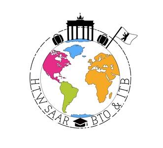 Logo für die ITM Fahrt der htw saar 2020